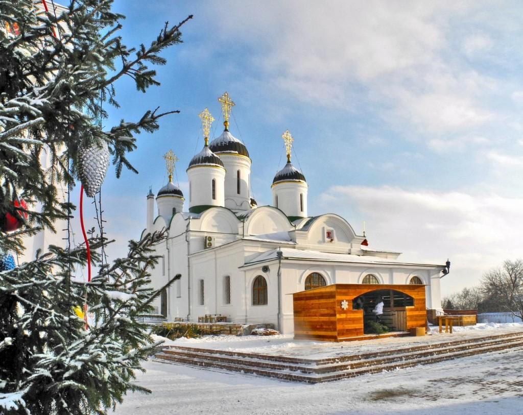Новый Год в Спасском монастыре от Татьяны Волковой