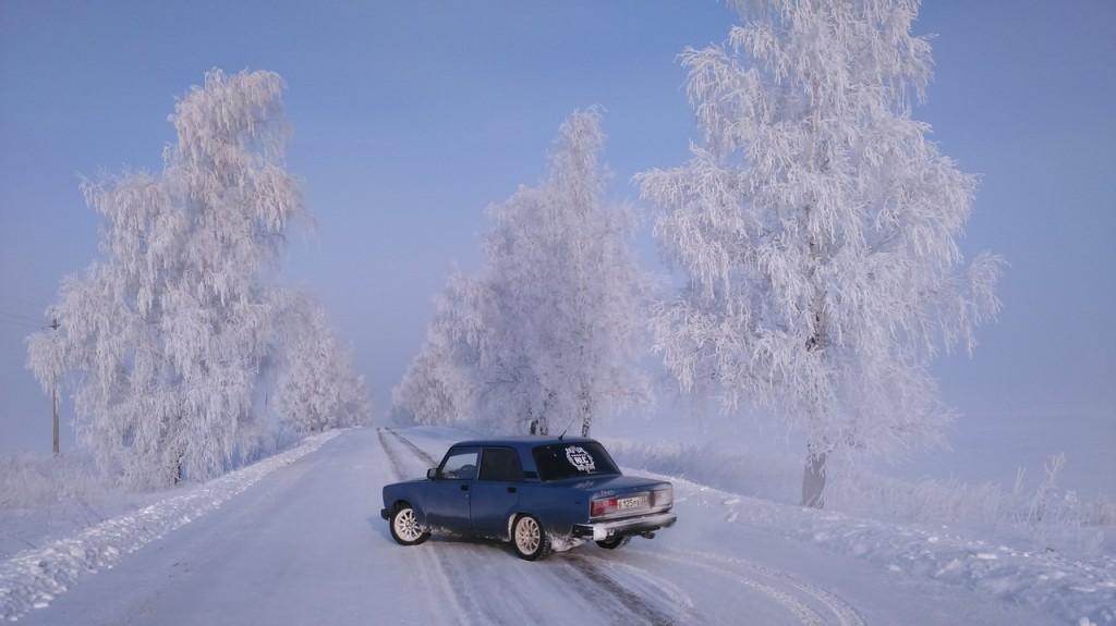 Окрестности Мурома Winter morning 02