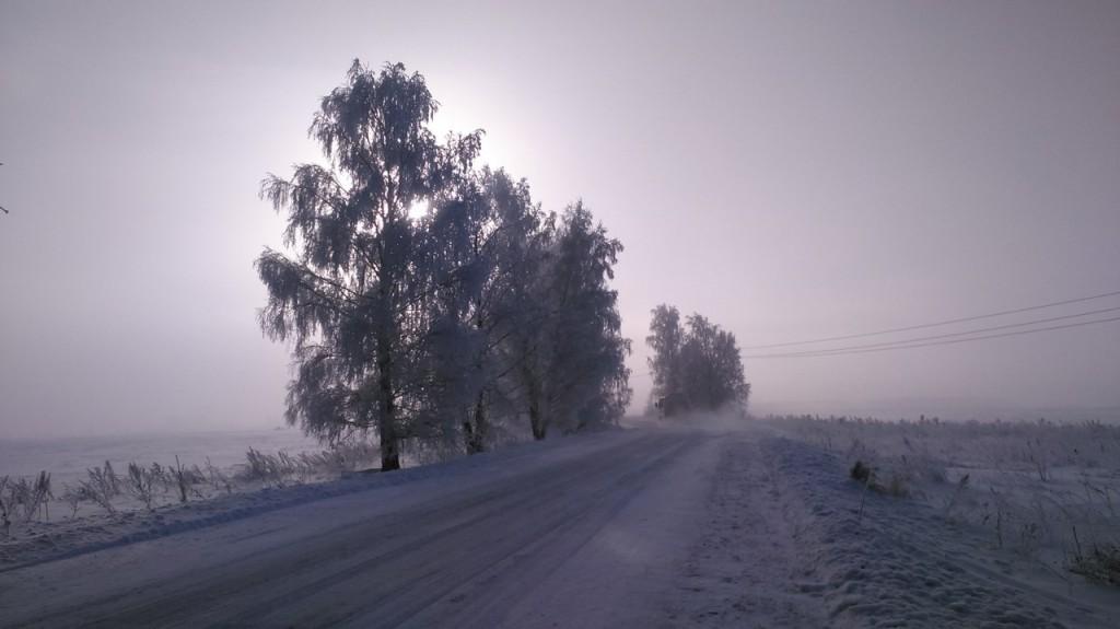 Окрестности Мурома Winter morning 04
