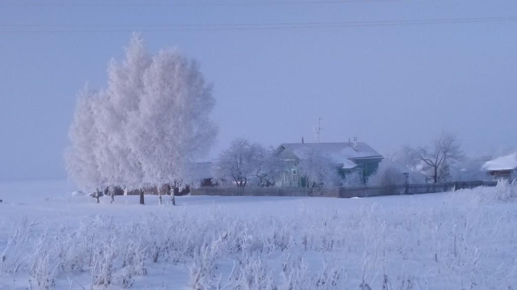 Окрестности Мурома Winter morning 06