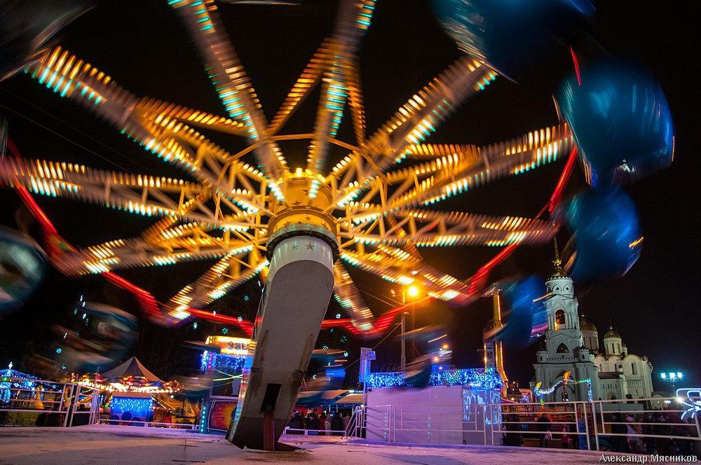 Открытие праздничной ярмарки во Владимире 06