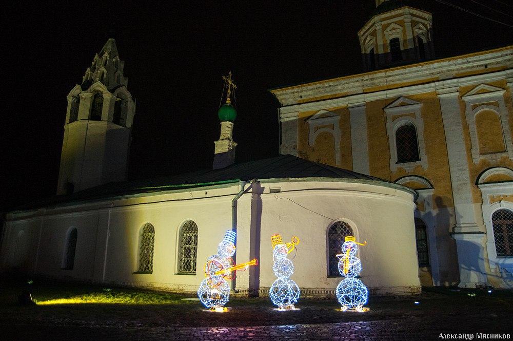Открытие праздничной ярмарки во Владимире 07