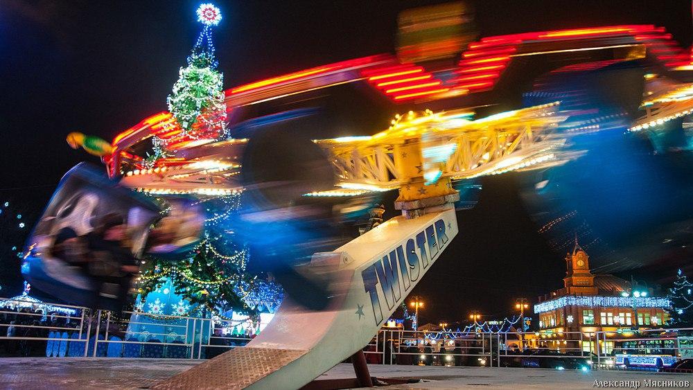 Открытие праздничной ярмарки во Владимире 08