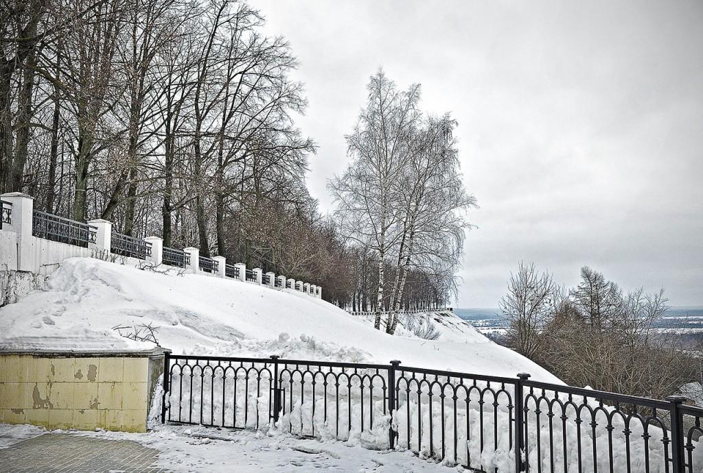 Парк Пушкина (г. Владимир, февраль, 2016)