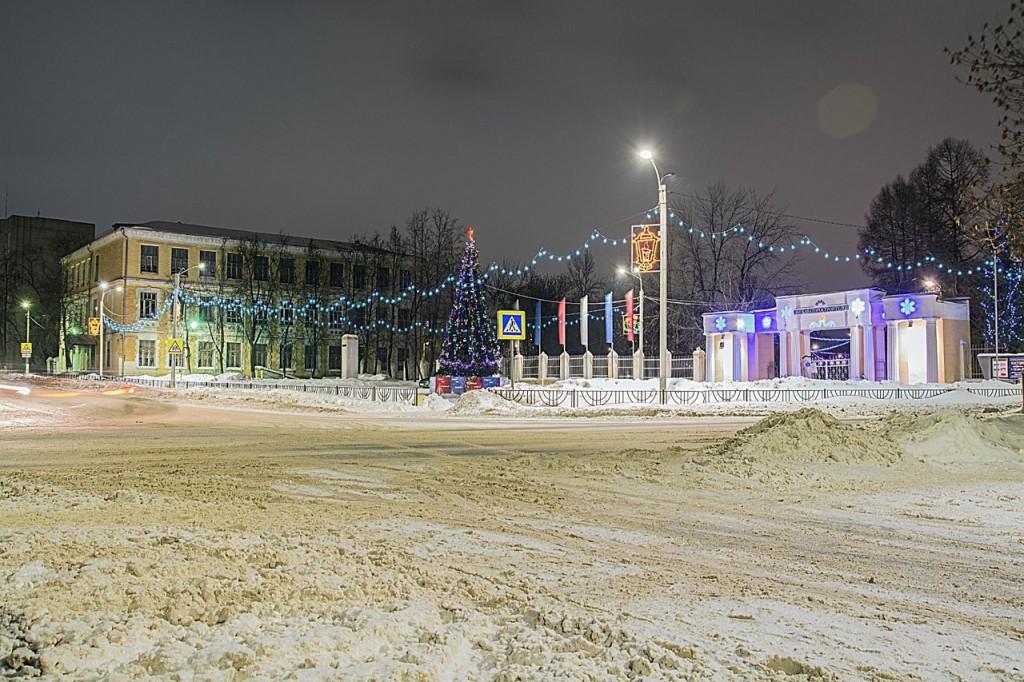 Прогулка по зимнему Коврову с Сергеем Прокофьевым 01