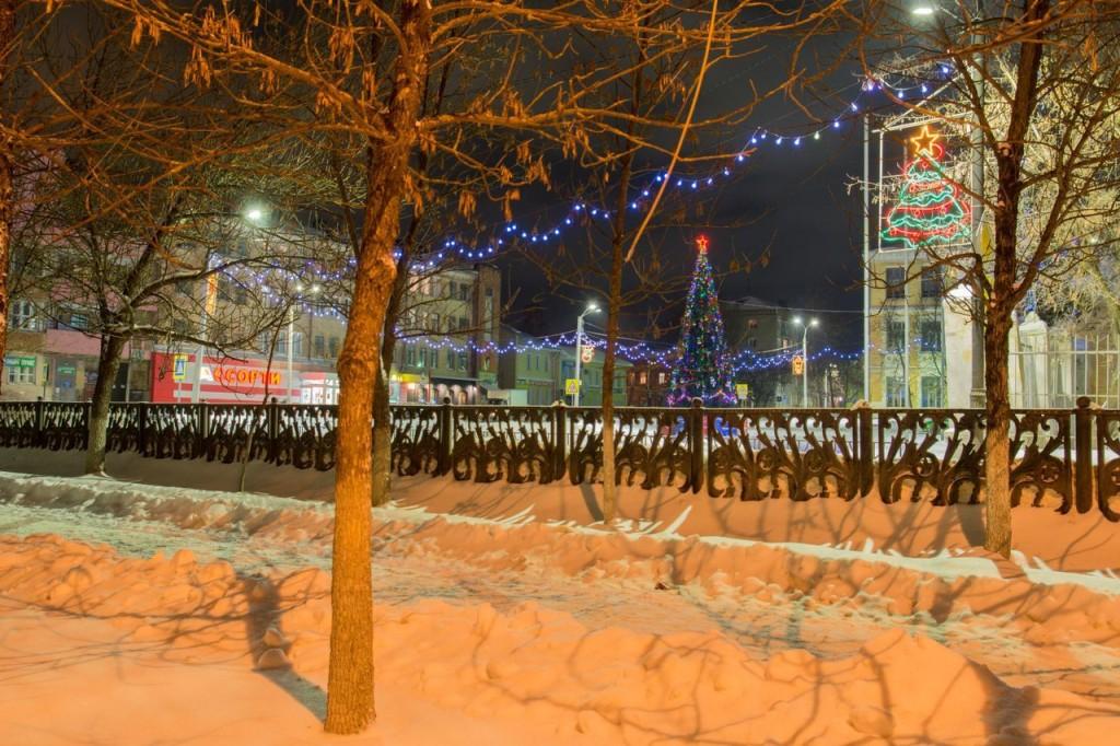Прогулка по зимнему Коврову с Сергеем Прокофьевым 05