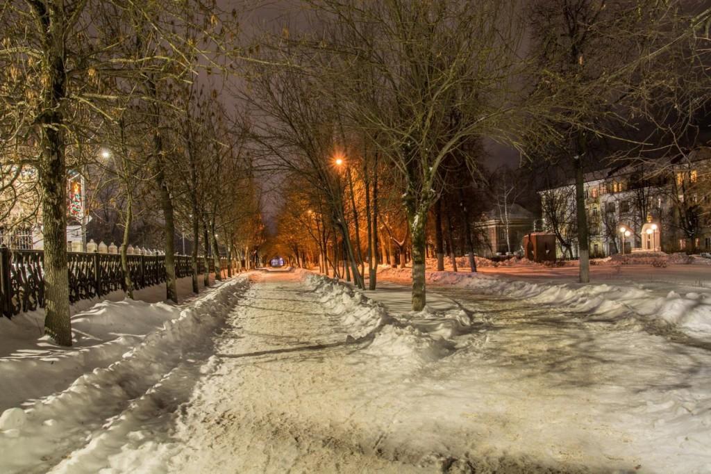 Прогулка по зимнему Коврову с Сергеем Прокофьевым 06