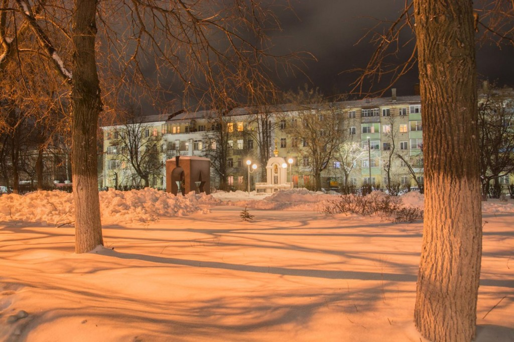 Прогулка по зимнему Коврову с Сергеем Прокофьевым 07