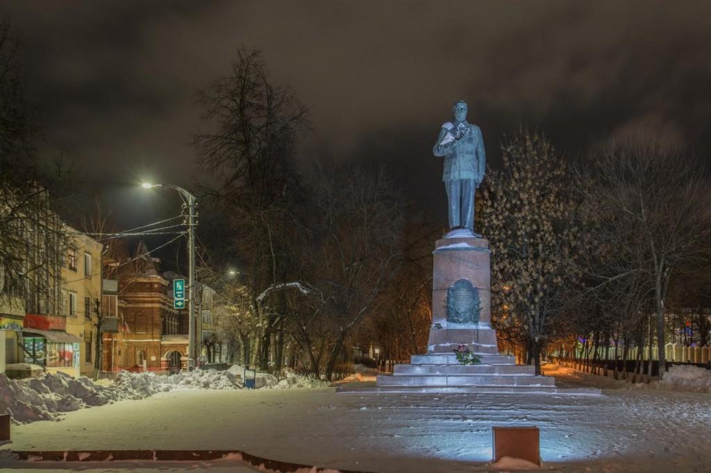 Прогулка по зимнему Коврову с Сергеем Прокофьевым 08