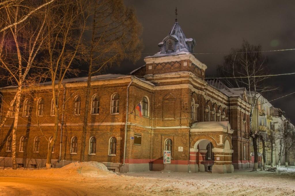 Прогулка по зимнему Коврову с Сергеем Прокофьевым 09