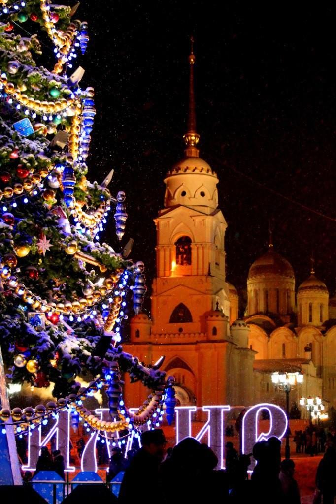 Рождественская ночь во Владимире