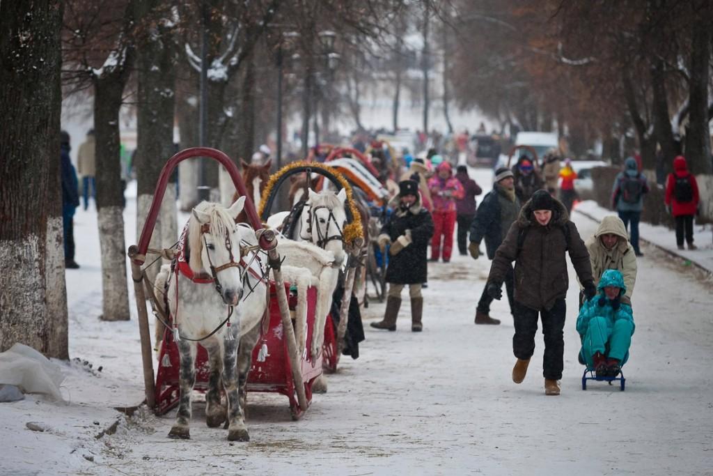 Рождественский Суздаль от Владимира Чучадеева 17