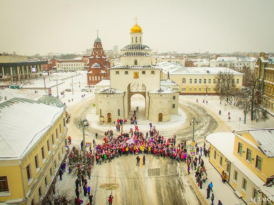 Самые спортивные Деды Морозы Владимира