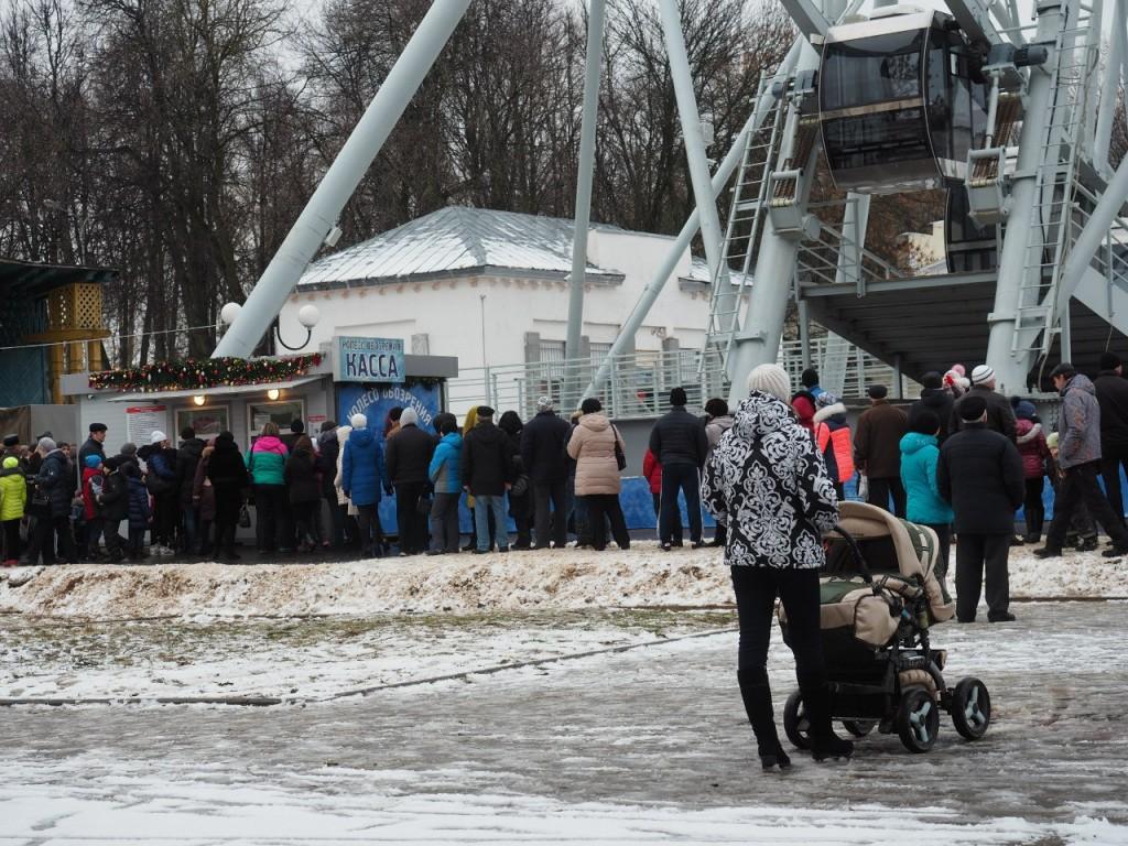 Фотоотчет с открытия Колеса Обозрения во Владимире 02