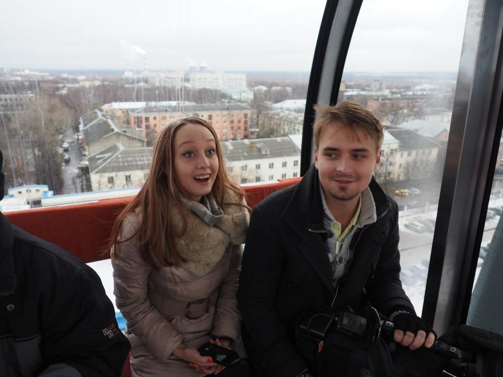 Фотоотчет с открытия Колеса Обозрения во Владимире 11