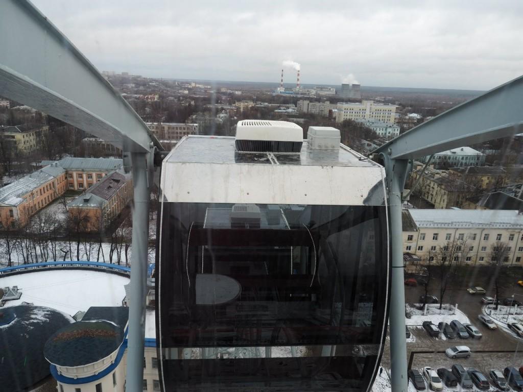 Фотоотчет с открытия Колеса Обозрения во Владимире 14