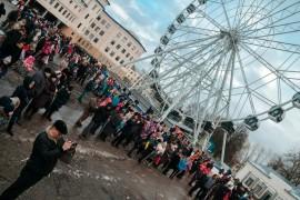 Фото с открытия Колеса Обозрения во Владимире