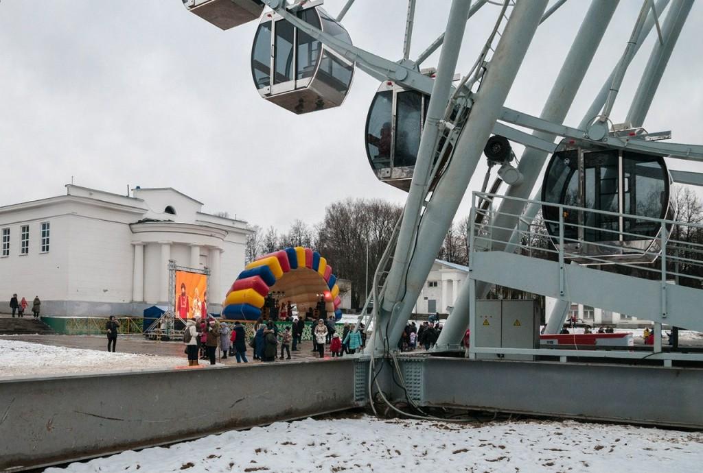 Фото с открытия Колеса Обозрения во Владимире 02