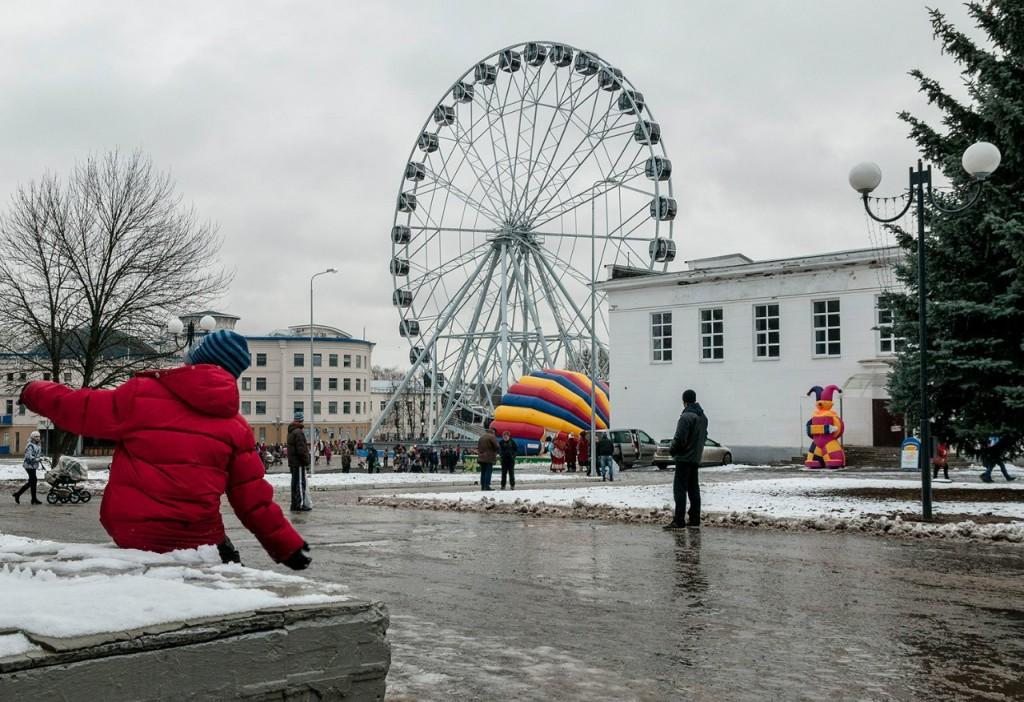 Фото с открытия Колеса Обозрения во Владимире 07