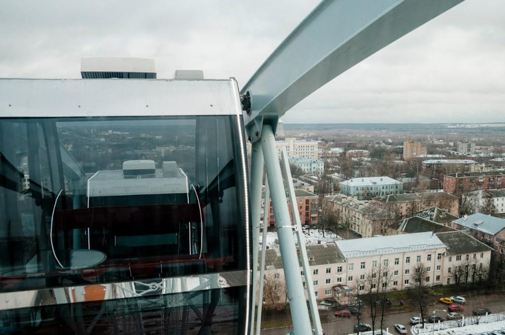 Фото с открытия Колеса Обозрения во Владимире 09