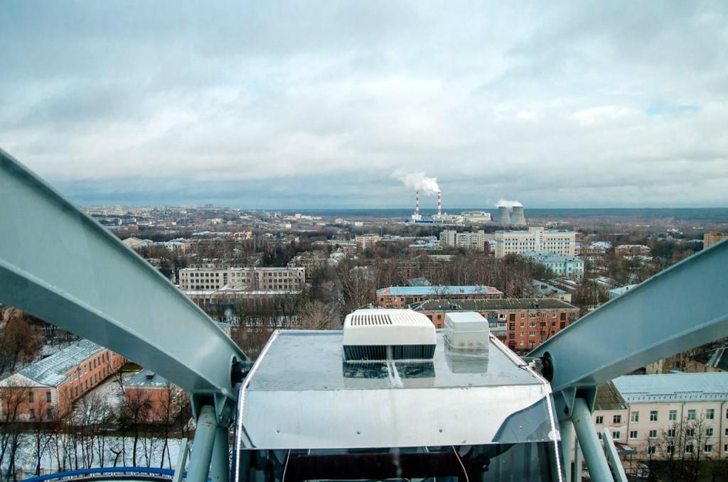 Фото с открытия Колеса Обозрения во Владимире 10