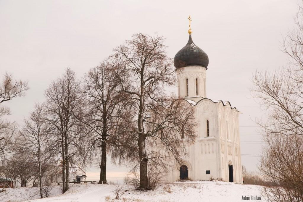 Храм Покрова на Нерли от Антона Блинкова 01