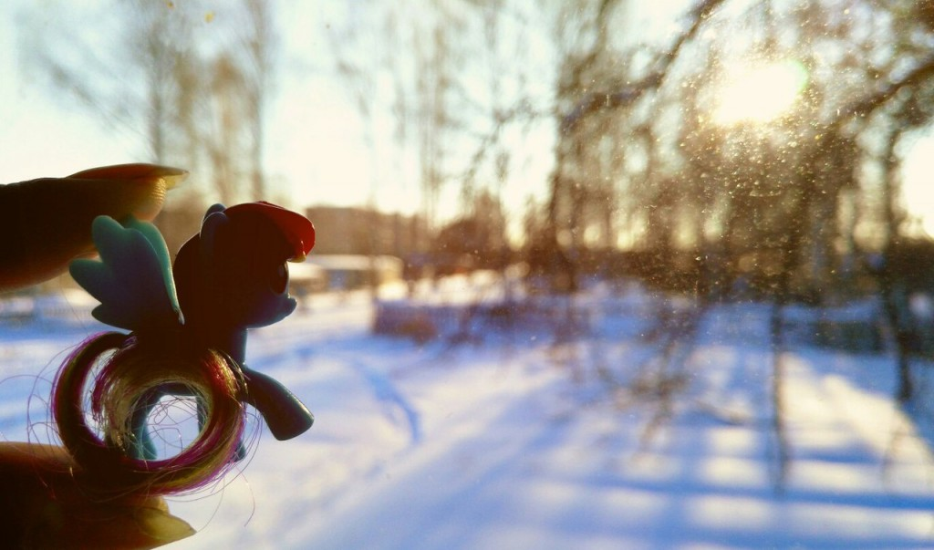 Чудесная зимняя Мстёра. Вид из окна. Утро 04
