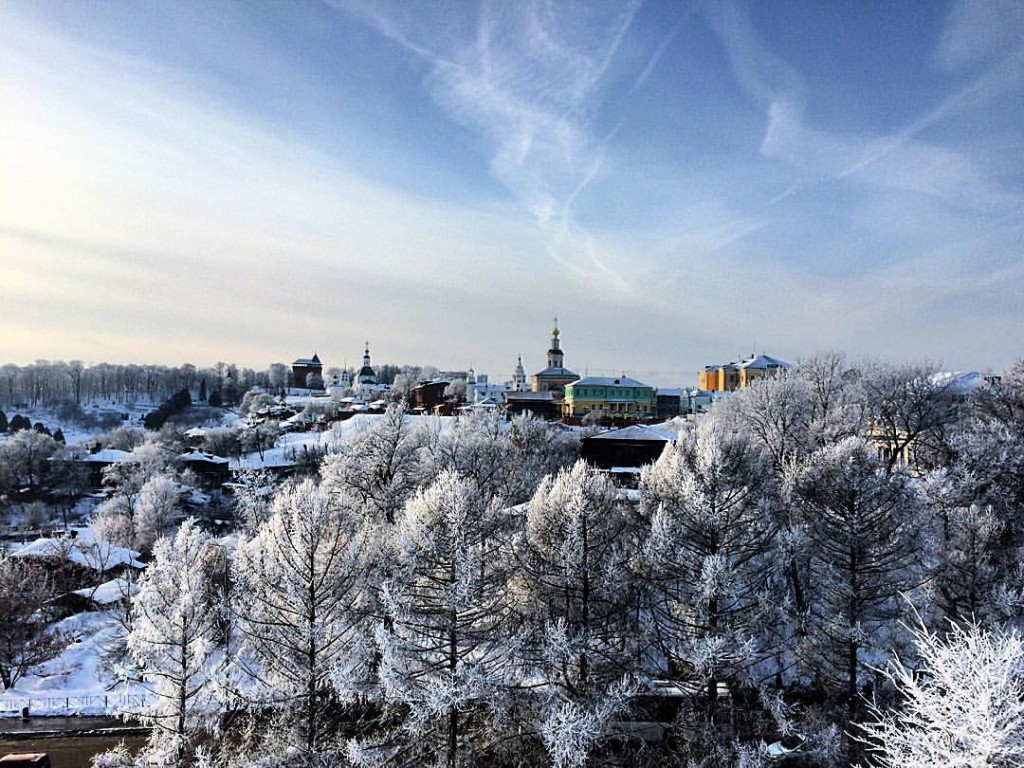 Чудесный январьский денек во Владимире