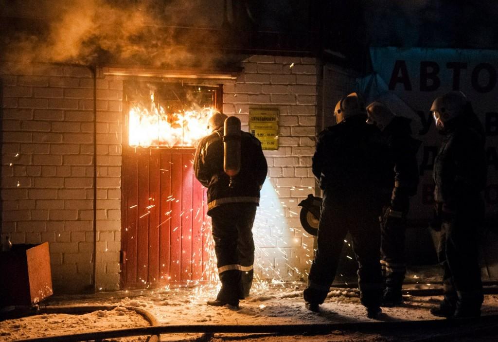 04.01.2016 Пожар на Лакина (Апельсин) во Владимире 05