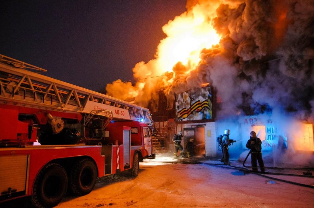 04.01.2016 Пожар на Лакина (Апельсин) во Владимире 08