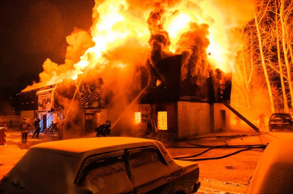04.01.2016 Пожар на Лакина (Апельсин) во Владимире 09