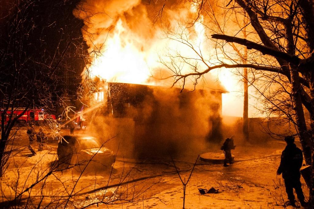 04.01.2016 Пожар на Лакина (Апельсин) во Владимире 10