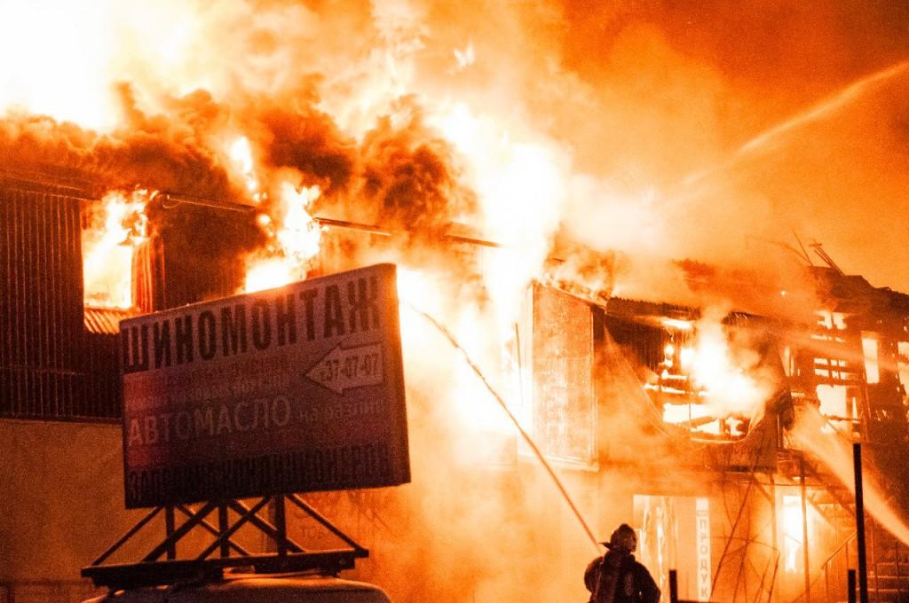04.01.2016 Пожар на Лакина (Апельсин) во Владимире 16