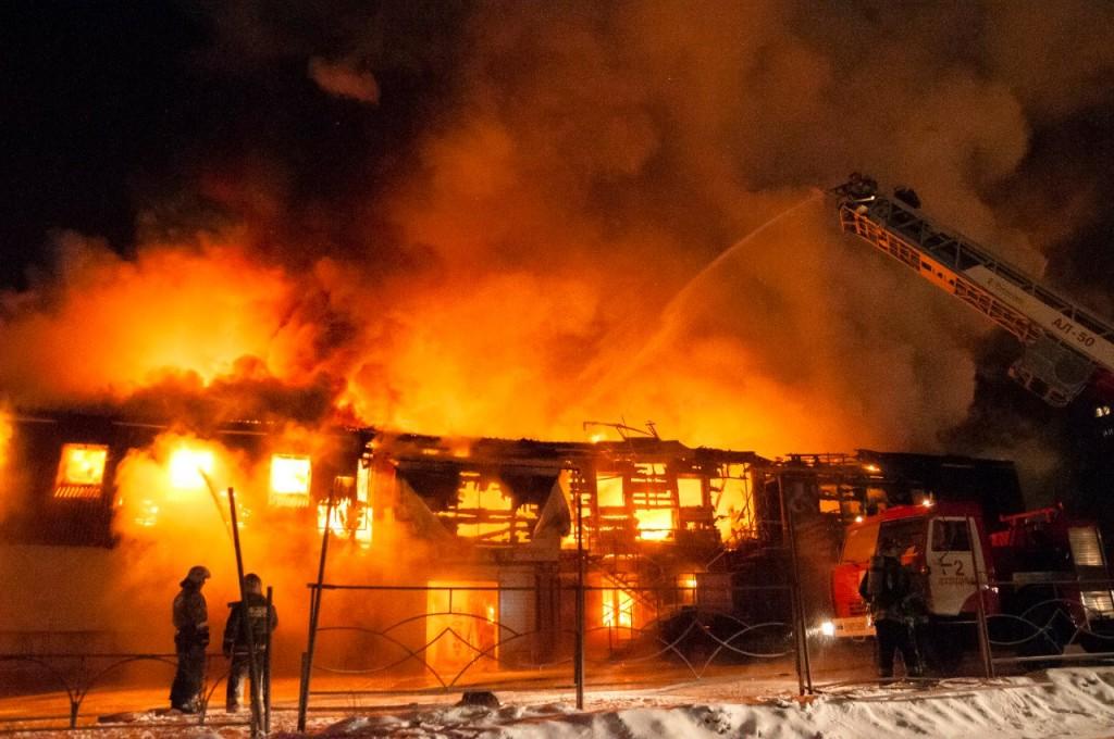 04.01.2016 Пожар на Лакина (Апельсин) во Владимире 18