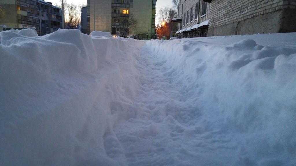 11 января - рекордное количество снега за зиму на Вербовском