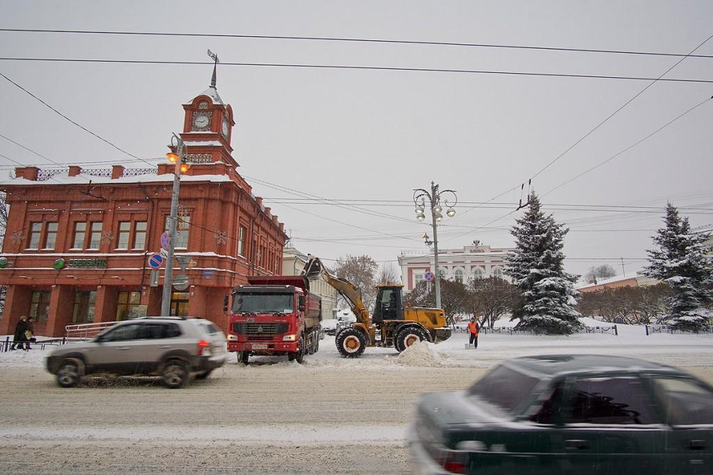 19.01.16 Снегопад во Владимире 01