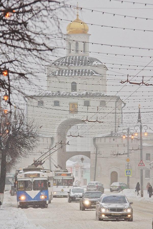 19.01.16 Снегопад во Владимире 02