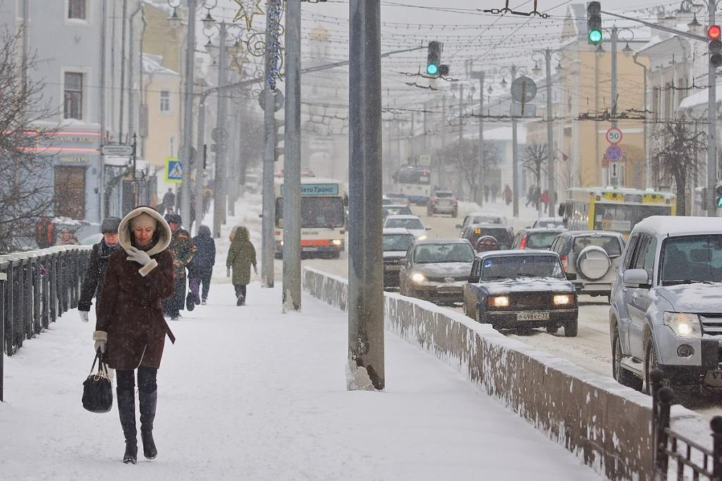 19.01.16 Снегопад во Владимире 05