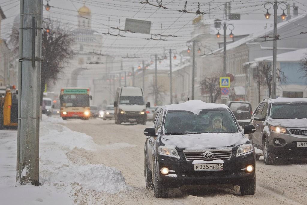 19.01.16 Снегопад во Владимире 07