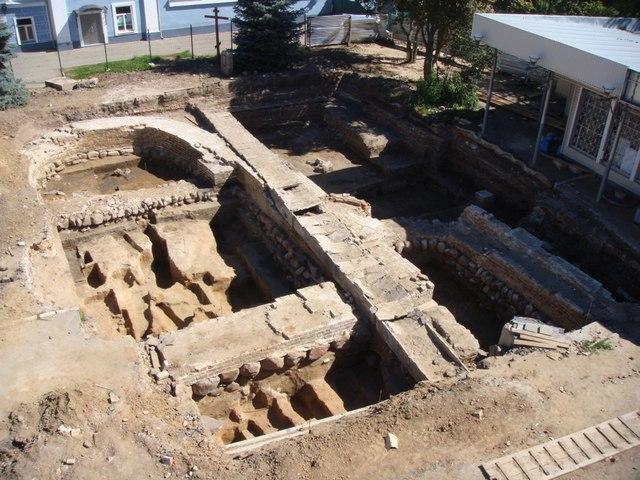 Археологи воссоздали историю позднесредневекового посада Владимира 02