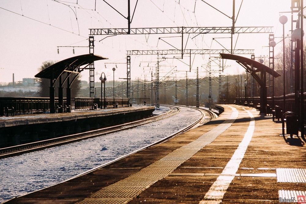 Боголюбово, железнодорожный вокзал