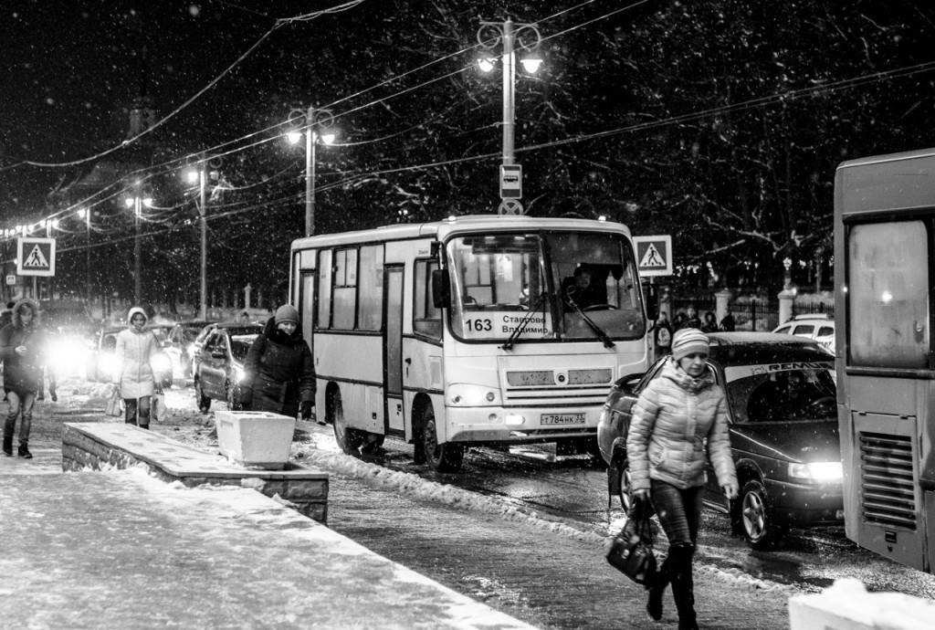 Борис Пучков Черно-белые краски зимнего Владимира 04