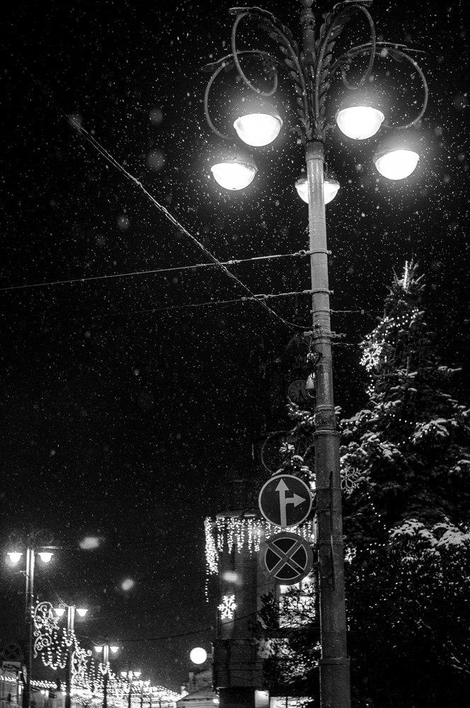 Борис Пучков Черно-белые краски зимнего Владимира 09