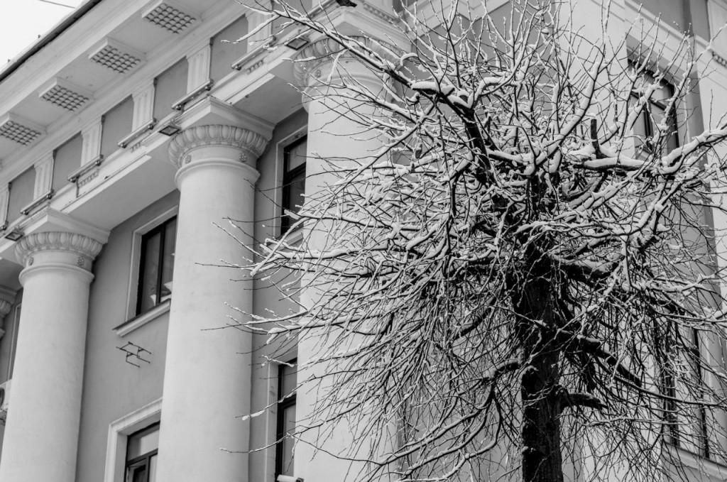 Борис Пучков Черно-белые краски зимнего Владимира 10