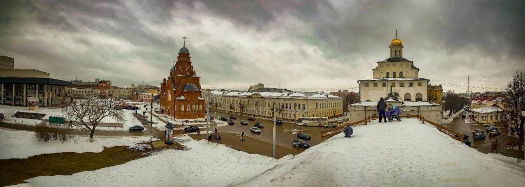 Владимир Тёплый февраль 2016...