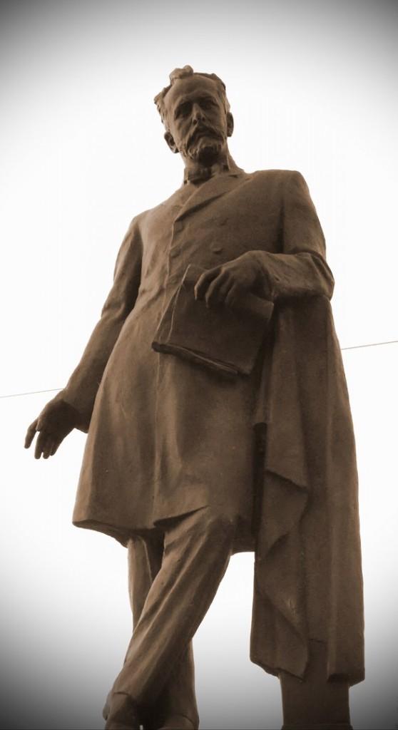 Владимир. Памятник П.И.Чайковскому (уст. 1967)