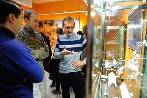 Выставка «Аммониты – странники древних морей» 03