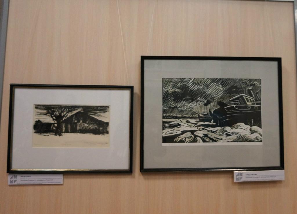 Выставки дипломных работ кафедры изобразительного искусства реставрации 02