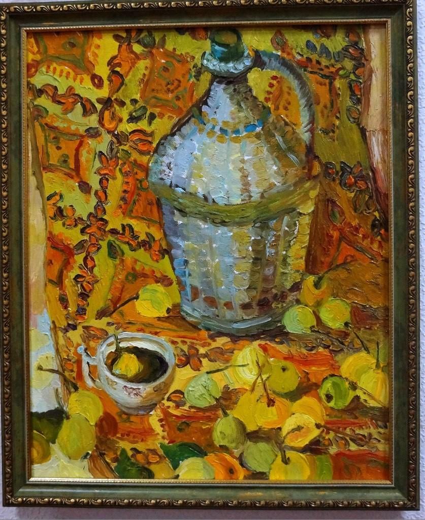 Выставки дипломных работ кафедры изобразительного искусства реставрации 09