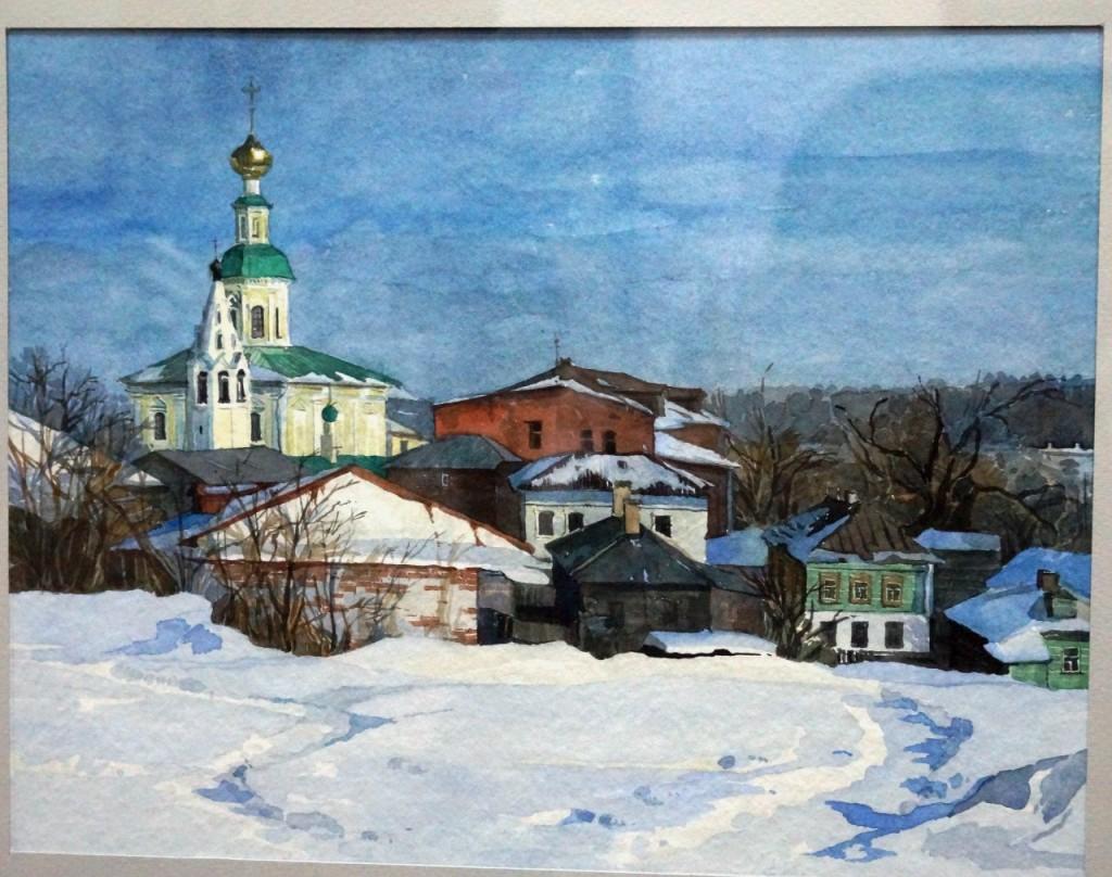 Выставки дипломных работ кафедры изобразительного искусства реставрации 12